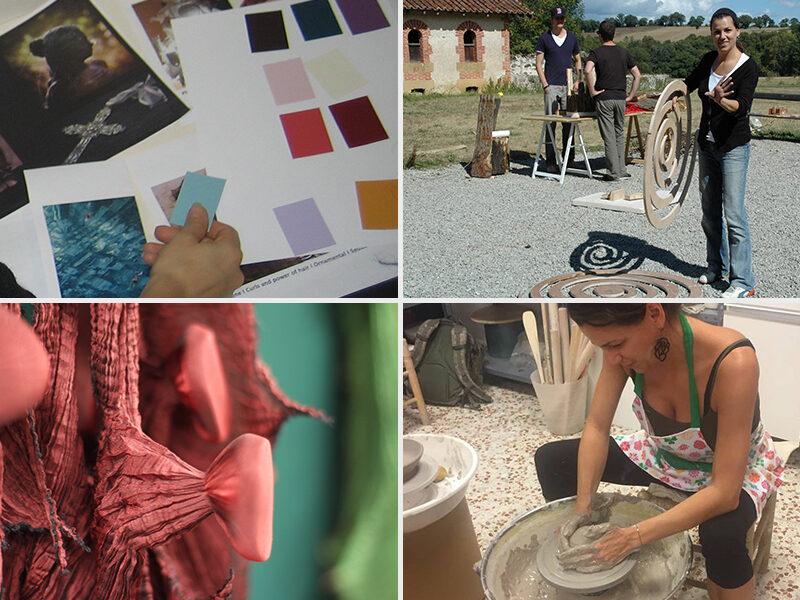 Art   Colour   Material Workshops